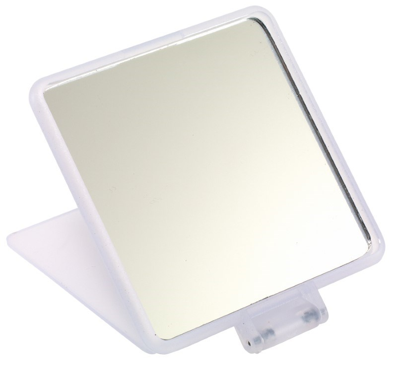 Square cosmetic mirror