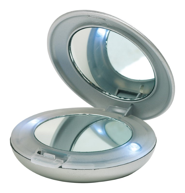 Make-up mirror w.LED light,