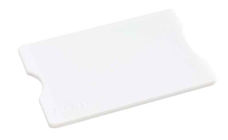 RFID Card Holder PROTECTOR, white