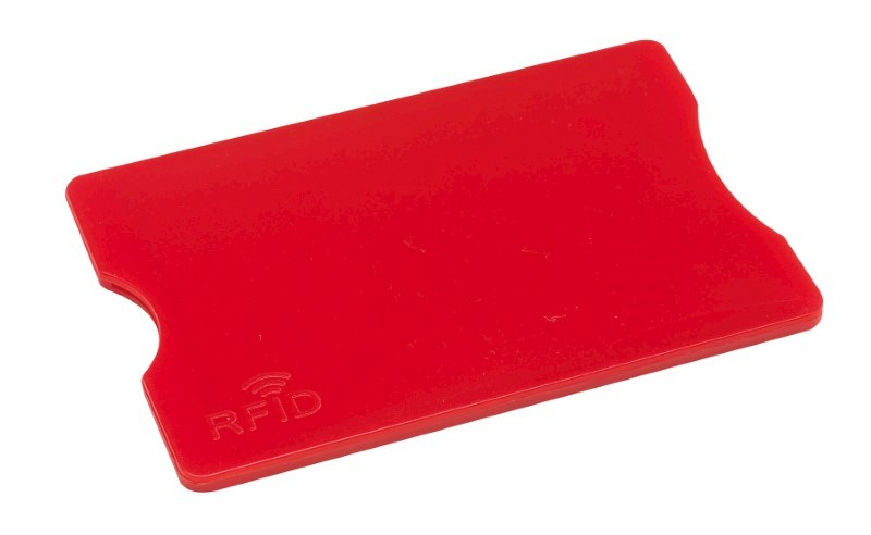 RFID Card Holder PROTECTOR, red