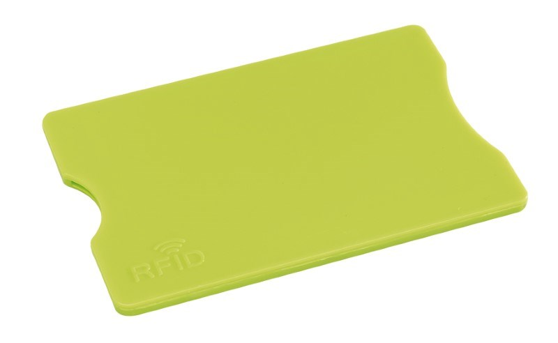 RFID Card Holder PROTECTOR, apple green