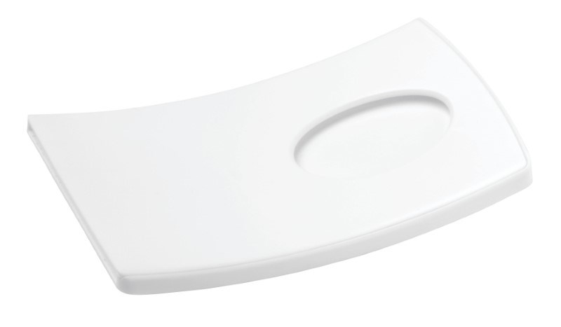 Card Holder ARCHED, white