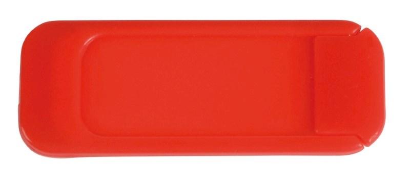 Webcam Cover HIDE, red