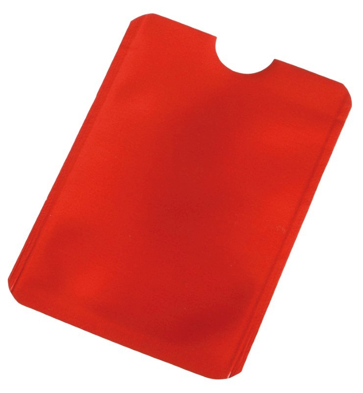 Creditcardhoesje EASY PROTECT, rood