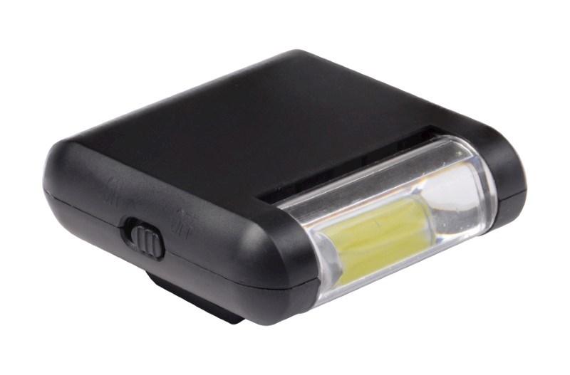 COB light CAP CLIP, black