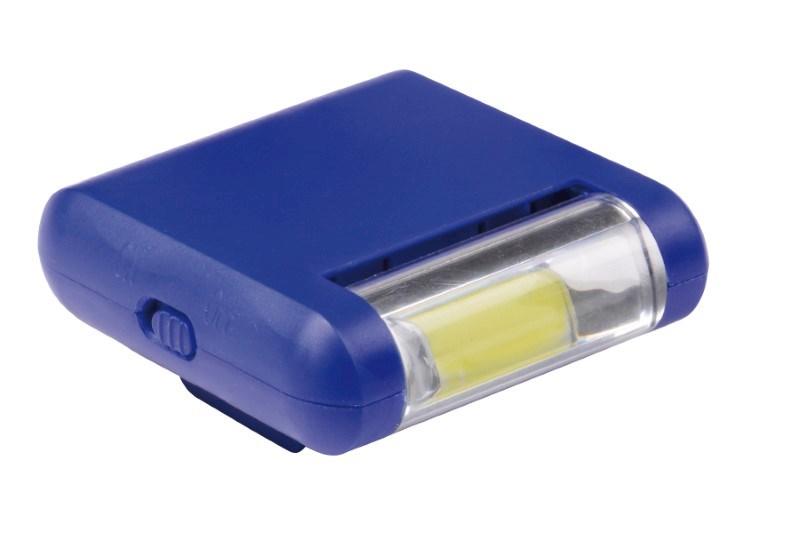 COB light CAP CLIP, blue