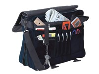 Document bag, expandable zip