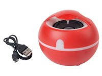Wireless speaker SOUND EGG, red