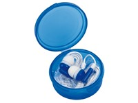 In Ear headphones MUSIC, frost blue