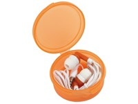 In Ear headphones MUSIC, frost orange