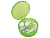 In Ear headphones MUSIC, frost green