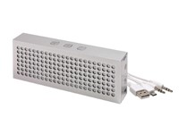 Bluetooth speaker BRICK, silver