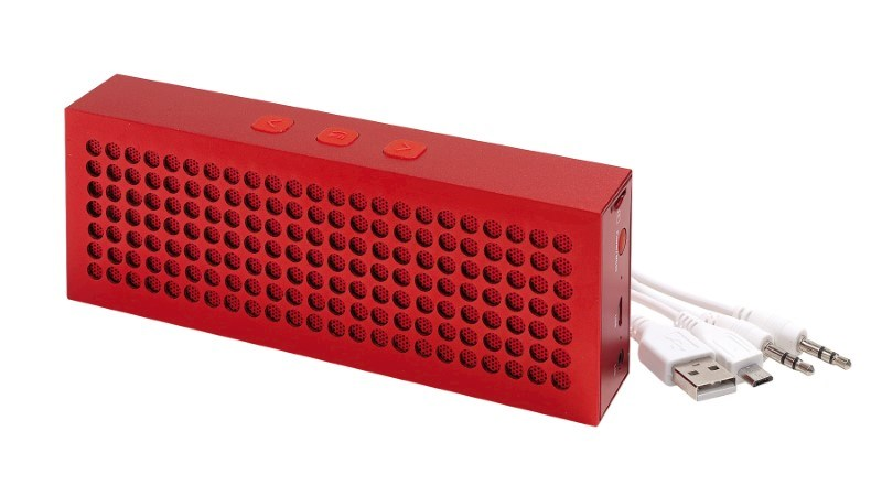 Bluetooth speaker BRICK, red