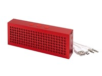 Wireless speaker BRICK, red