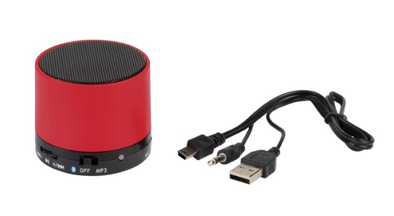 Bluetooth speaker NEW LIBERTY, red