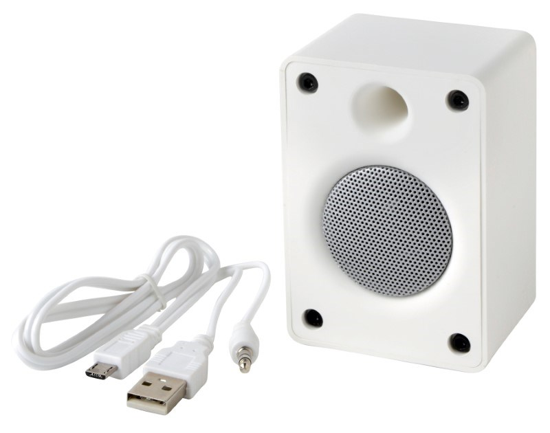 Bluetooth speaker OLD SCHOOL, white