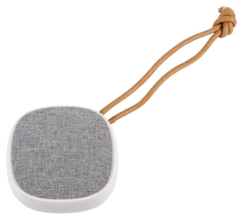 Wireless speaker STRAP,white/grey