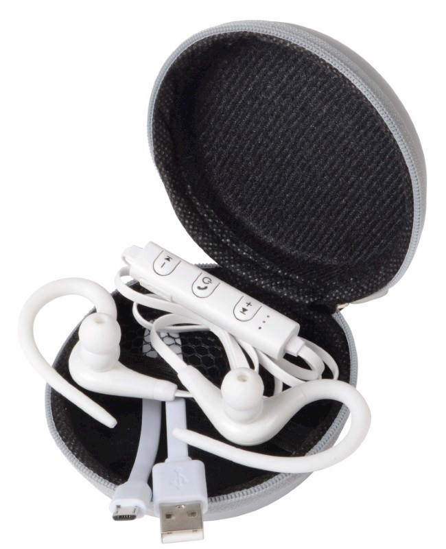 Wireless headphones SPORTY, white
