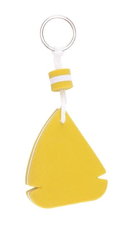 Keyring FLOATING, yellow