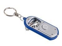 keyholder, silver/blue