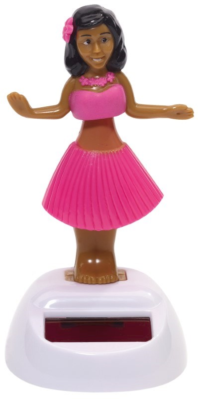 Solar dancing girl