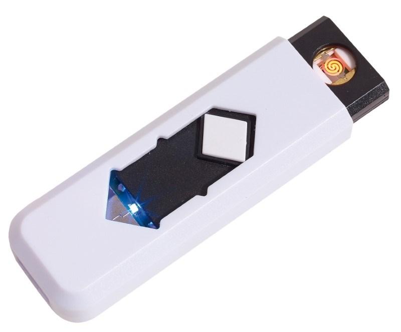 USB cigarette lighter FIRE UP, white