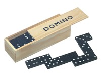 Domino game with 28 pcs.