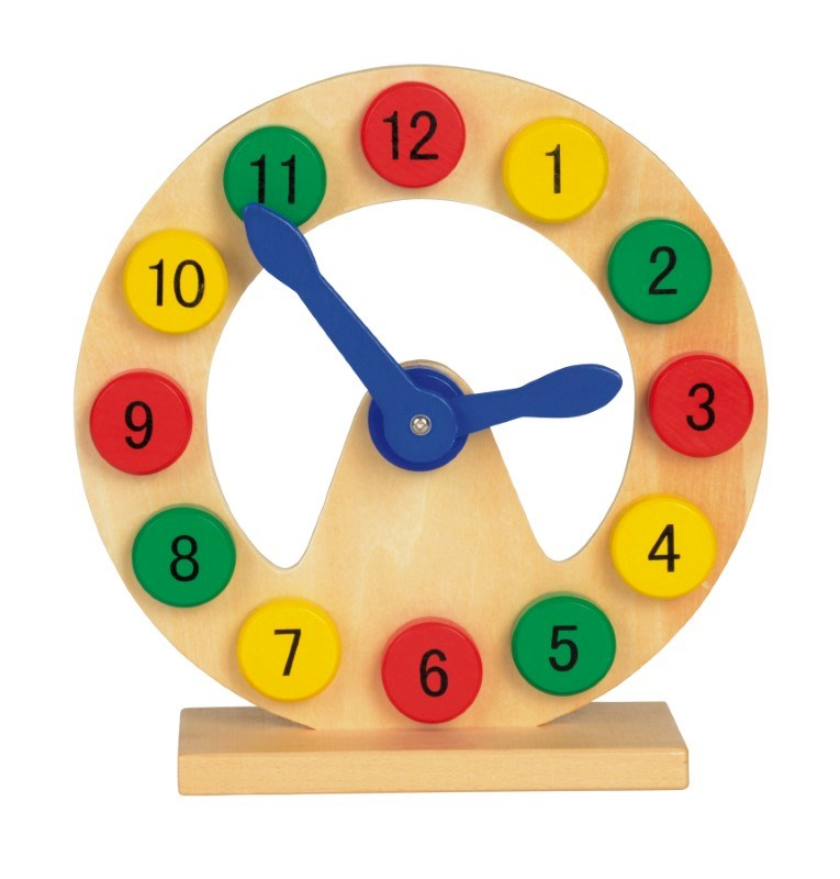 Wooden Learn and Playclock