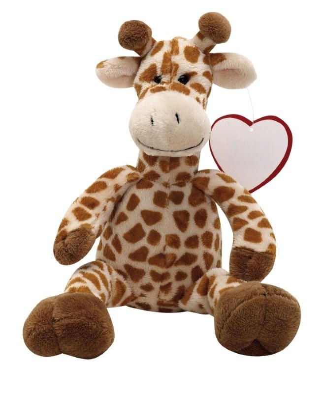 Plush-giraffe