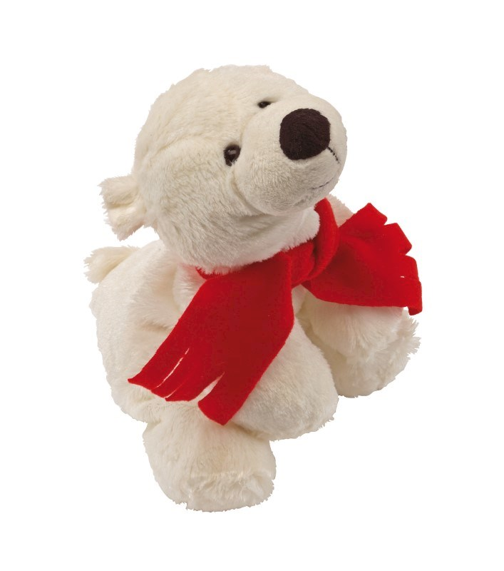 Plush ice bear