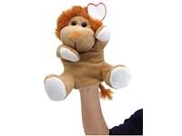 plush hand-puppet lion