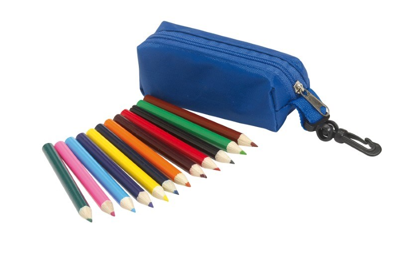 Pouch with pencils