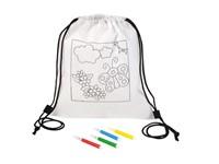coloring kids-sportbag