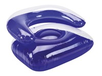 Sofa inflatable, blue, large