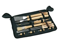 barbecue-set pouch10pcs,wo.handle
