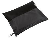 Picnic fleece blanket 100X155 cm, black