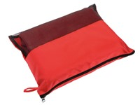 Picnic fleece blanket 100X155 cm, red
