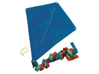 Promotion kite, blue, 70X58 cm