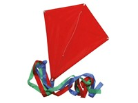 Promotion kite, red, 70X58 cm