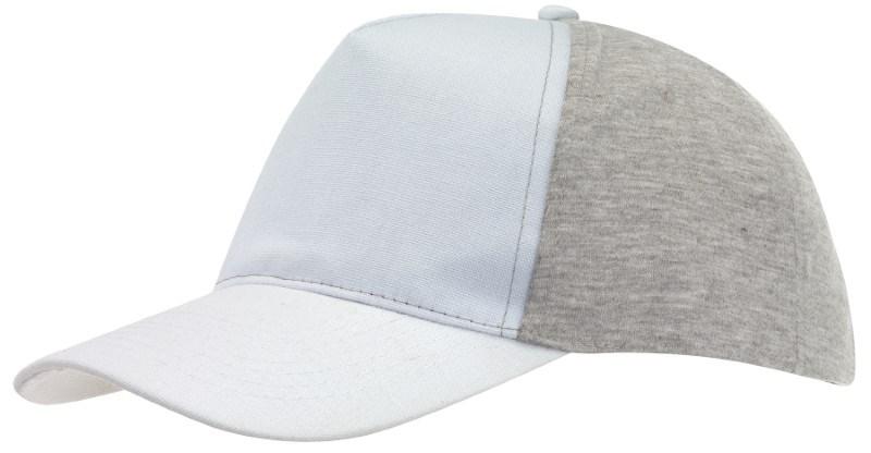 Baseball-Cap, 5 Panels with Jersey