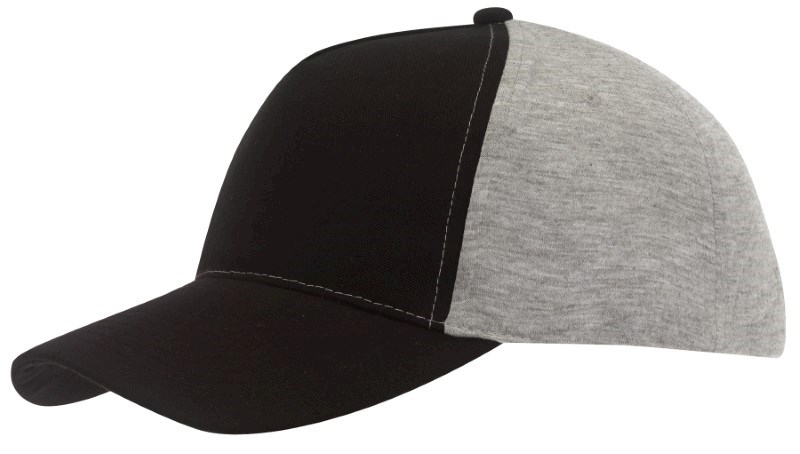 Baseball-Cap, 5 Panels with Jersey