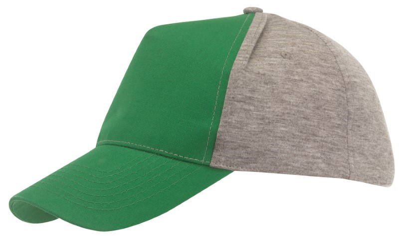 Baseball-Cap,5 Panels with Jersey D´gree