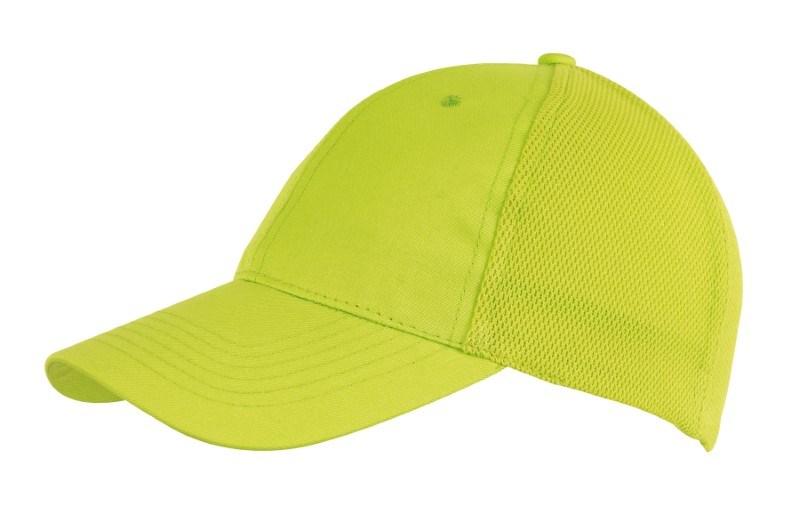 6-Panel cap with Mesh