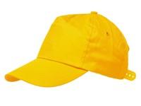 BASEBALL-CAP, COTTON, YELLOW