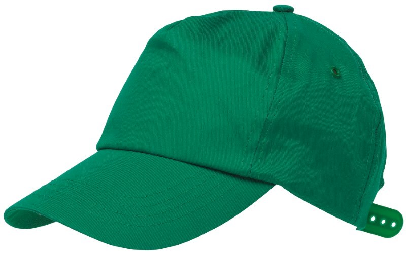 BASEBALL-CAP, COTTON, GREEN
