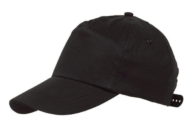BASEBALL-CAP, COTTON, BLACK