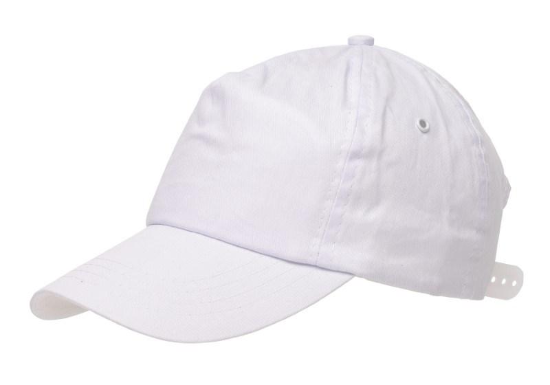 BASEBALL-CAP, COTTON, WHITE