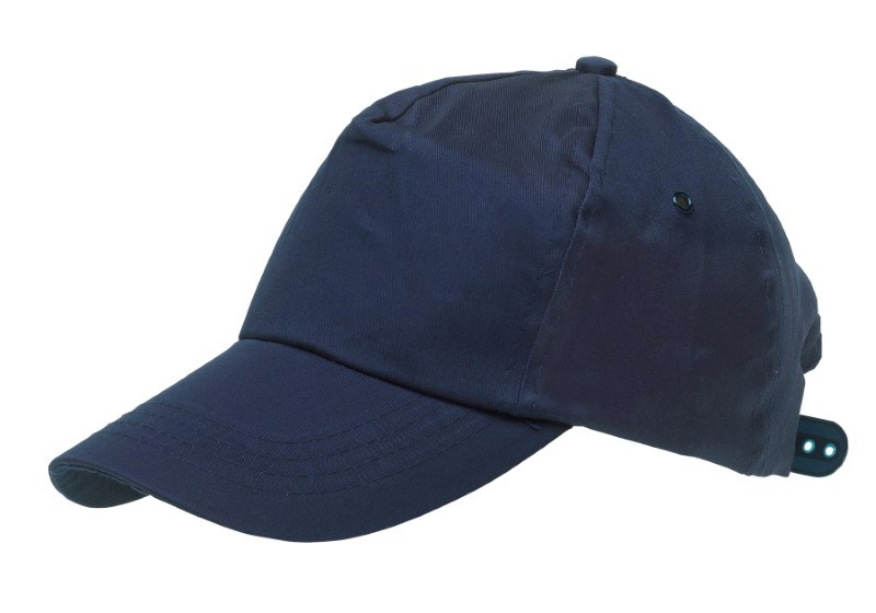 BASEBALL-CAP,COTTON,NAVY BLUE