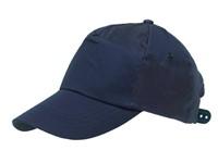 BASEBALL-CAP,COTTON,NAVY BLUE