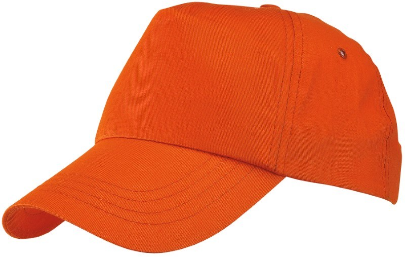 BASEBALL-CAP, COTTON, ORANGE